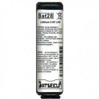 BATSECUR BAT28 BATTERIA PER ANTIFURTO 3.6V 2AH 200x200 - BATSECUR BAT28 BATTERIA PER ANTIFURTO 3.6V 2AH