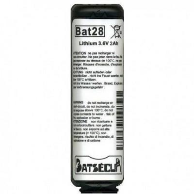BATSECUR BAT28 BATTERIA PER ANTIFURTO 3.6V 2AH - BATSECUR BAT28 BATTERIA PER ANTIFURTO 3.6V 2AH